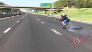 Highway Drifting Motorcycle Drifts ROC 2014 Ride Of The Century C Bear High Speed Street Bike Drift