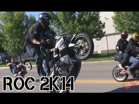 Motorcycle Stunts ROC 2014 RIDE OF THE CENTURY Streetfighterz Part 1 Video Stunt Bike BLOX STARZ TV