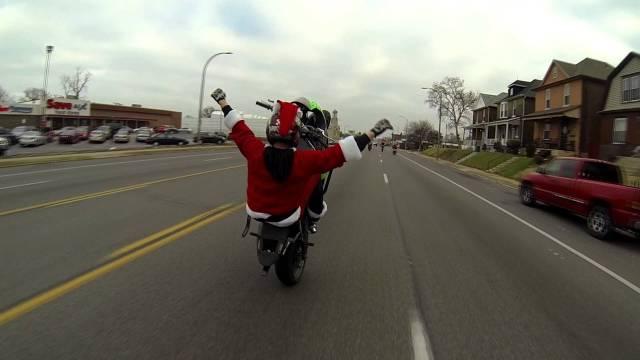 Santa Stunt Ride