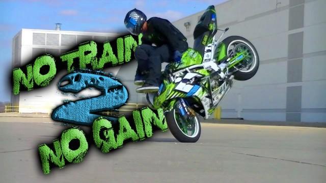 "KYLE SLIGER 2015 ""No Train No Gain 2"" Motorcycle Stunts"