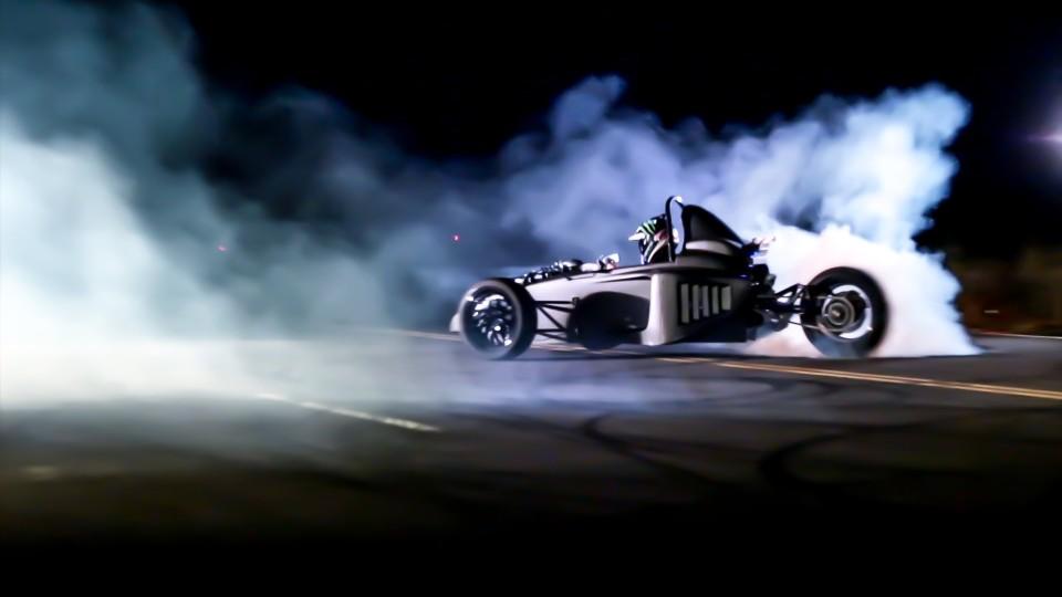 Scorpion P6 Shakedown Drifting