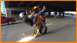 STREETFIGHTERZ RIDE The Middle Of The Map Ride 2015 INSANE MOTORCYCLE STUNTS