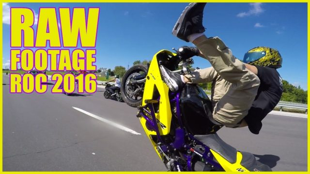 RIDE OF THE CENTURY 2016 Raw Footage Stunts